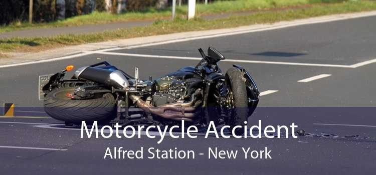 Motorcycle Accident Alfred Station - New York