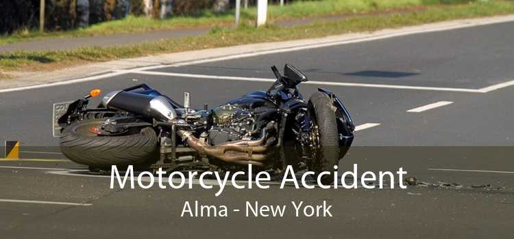 Motorcycle Accident Alma - New York