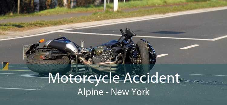 Motorcycle Accident Alpine - New York