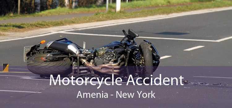 Motorcycle Accident Amenia - New York