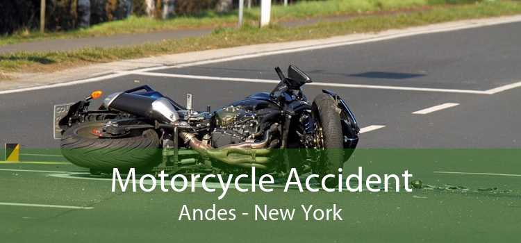 Motorcycle Accident Andes - New York