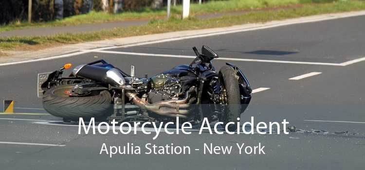 Motorcycle Accident Apulia Station - New York