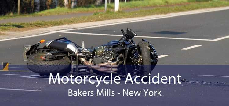 Motorcycle Accident Bakers Mills - New York