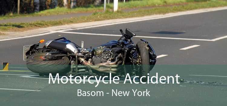 Motorcycle Accident Basom - New York