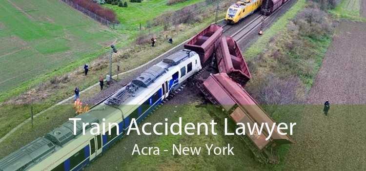 Train Accident Lawyer Acra - New York