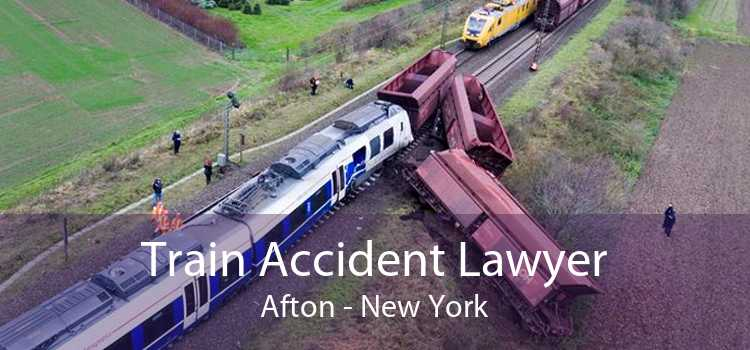 Train Accident Lawyer Afton - New York