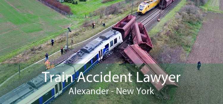 Train Accident Lawyer Alexander - New York