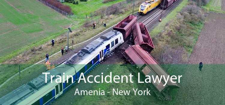 Train Accident Lawyer Amenia - New York