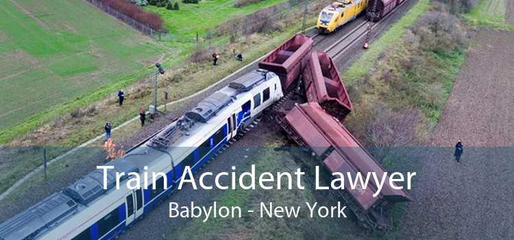 Train Accident Lawyer Babylon - New York