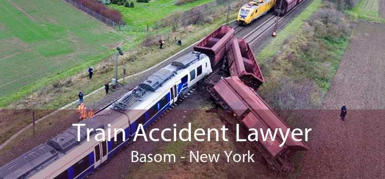 Train Accident Lawyer Basom - New York