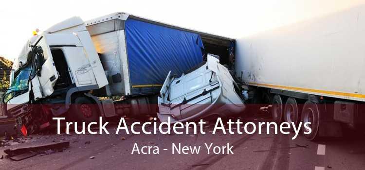Truck Accident Attorneys Acra - New York