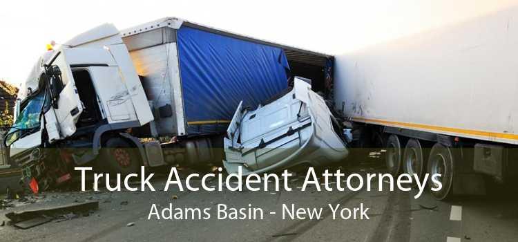 Truck Accident Attorneys Adams Basin - New York