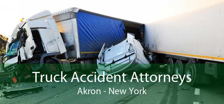 Truck Accident Attorneys Akron - New York