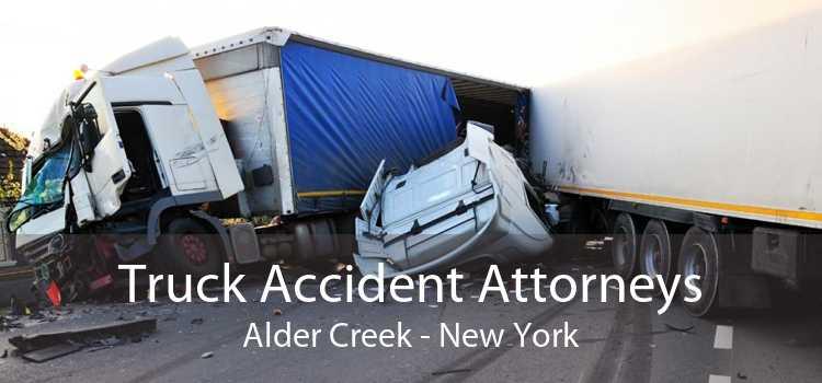 Truck Accident Attorneys Alder Creek - New York