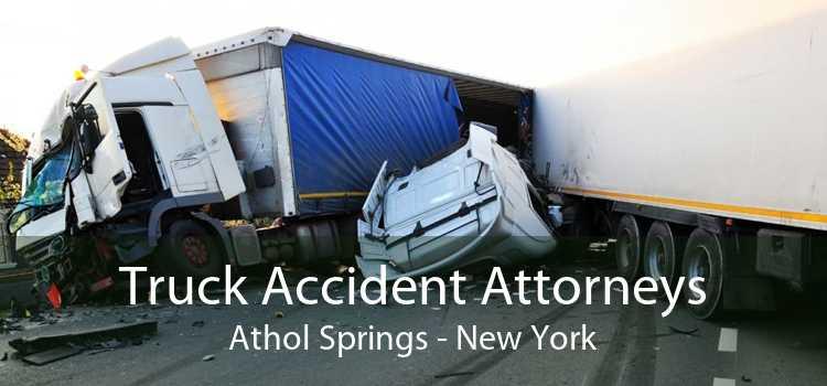 Truck Accident Attorneys Athol Springs - New York