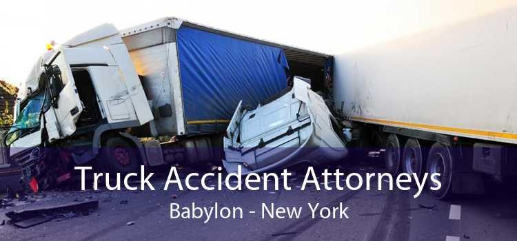 Truck Accident Attorneys Babylon - New York