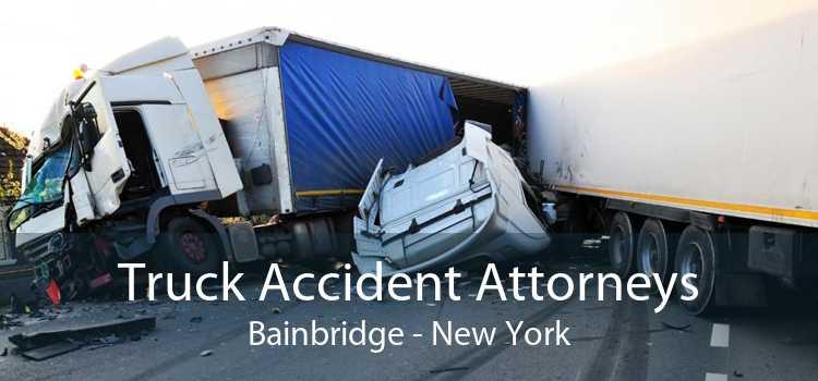Truck Accident Attorneys Bainbridge - New York