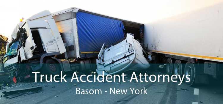 Truck Accident Attorneys Basom - New York