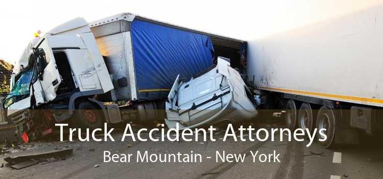 Truck Accident Attorneys Bear Mountain - New York