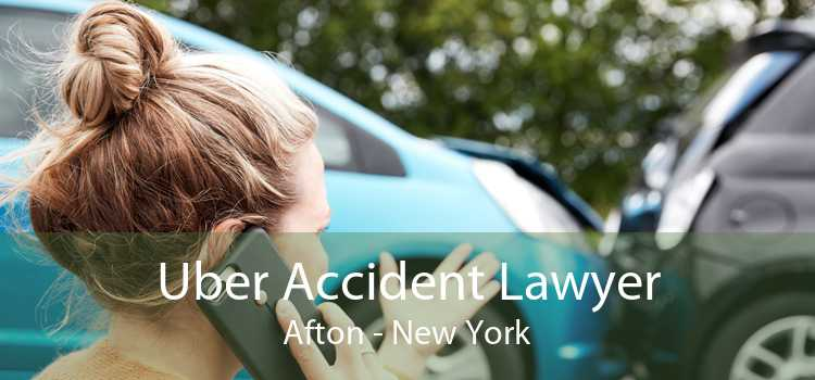 Uber Accident Lawyer Afton - New York