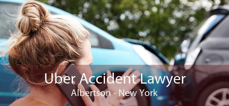 Uber Accident Lawyer Albertson - New York