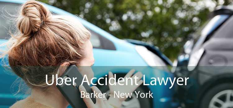 Uber Accident Lawyer Barker - New York
